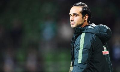 Alexander Nouri, Trainer vom SV Werder Bremen.