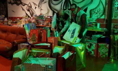 Die Hells Angels aus Savona sammeln zu Weihnachten spenden für die Erdbebenopfer aus Amatrice.