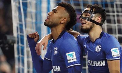 Die Gesichtsmaske bereitet dem Sommerneuzugang des FC Schalke 04 Probleme.