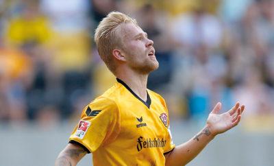 Marcel Hilßner von Dynamo Dresden.