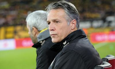 Dynamo Dresden hakt die Niederlage ab.