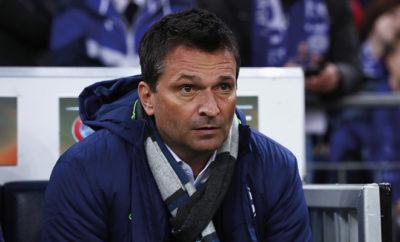 Aufgrund des Rückstands in der Bundesliga erhöht FC Schalke 04-Manager Christian Heidel den Druck.