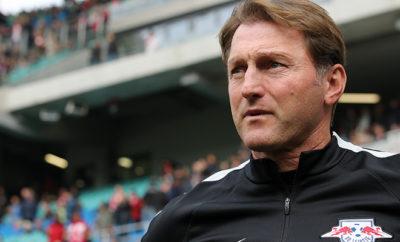 Hasenhüttl will bei RB Leipzig bleiben.