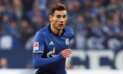 Leon Goretzka vom FC Schalke 04.