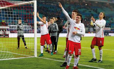 RB Leipzig feiert achten Sieg in Folge.