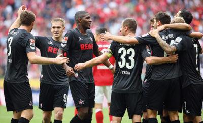 Die Mannschaft des 1. FC Köln.