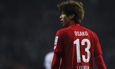 Yuya Osako vom 1. FC Köln.