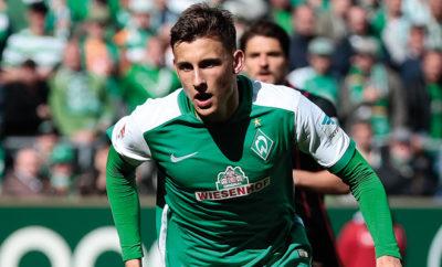 Maximilian Eggestein vom SV Werder Bremen.