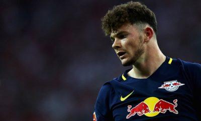 Oliver Burke von RB Leipzig.