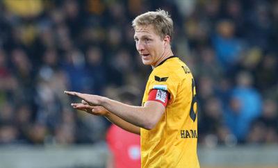 Kapitän Marco Hartmann von Dynamo Dresden.