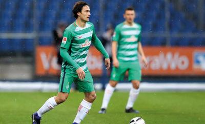 Thomas Delaney vom SV Werder Bremen.