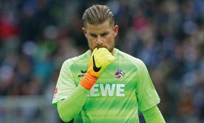 Die Rückkehr von Timo Horn in den Kasten vom 1. FC Köln steht noch in den Sternen.