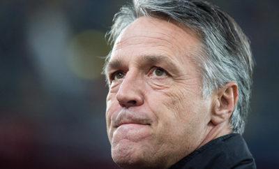 Coach Uwe Neuhaus von Dynamo Dresden.