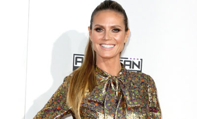 Heidi Klum beim American Music Awards in LA.