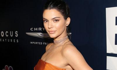 Kendall Jenner bei den Golden Globes.