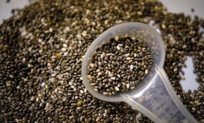 Chia-Samen erfreuen sich immer größerer Popularität.