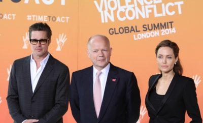 Brad Pitt und Angelina Jolie sprachen über sexuelle Belästigung!