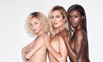 Khloe Kardashian: Heißes Oben Ohne-Shooting zu dritt!