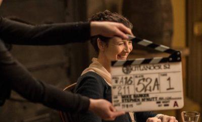Outlander: Caitriona Balfe provoziert Sam Heughan!