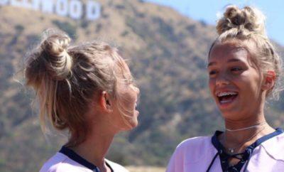 Lisa und Lena: Drehen sie ein Musikvideo?
