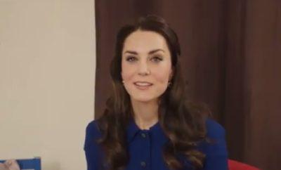 Kate Middleton macht auf Probleme von Kindern aufmerksam!
