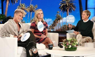 Pink und Reese Witherspoon: Pikante Sex-Enthüllung und Oben Ohne-Beichte!