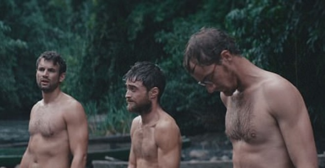 Daniel und seine Co-Stars in Jungle.