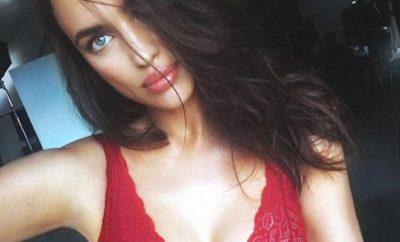 Irina Shayk räkelt sich nackt im Bett!