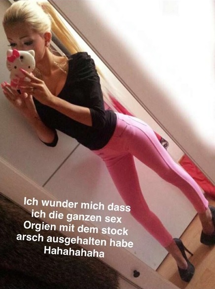 So dünn war Katja mit 17. Instagram Stories