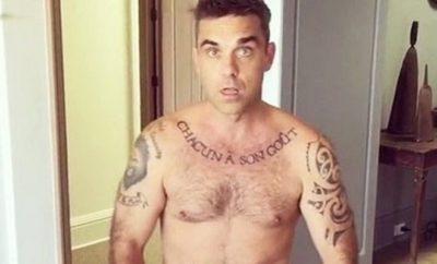 Robbie Williams schickt nackte Weihnachtsgrüße!