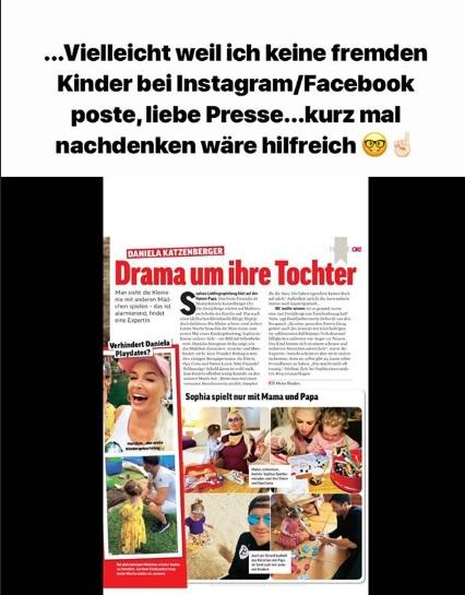 Daniela Katzenberger kontert alberne Kritik!