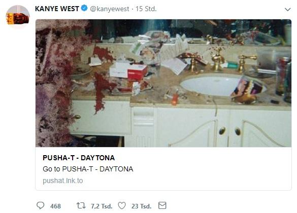 Kanye West provoziert wieder.