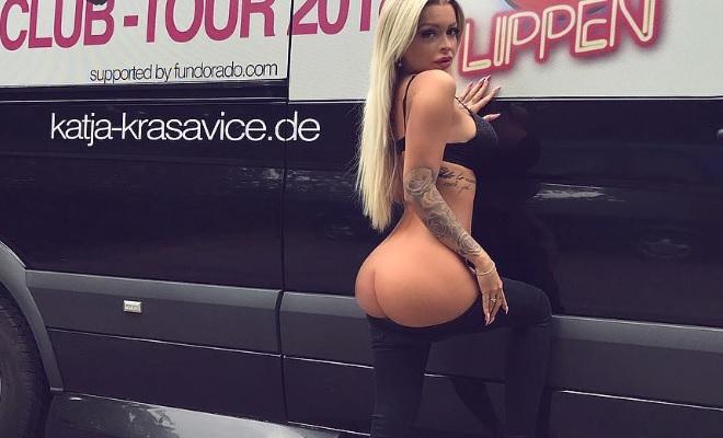 Nackt katja krasavice sex Katja Krasavice