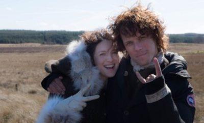Outlander: Sam Heughan und Caitriona Balfe leiden unter Dreharbeiten!