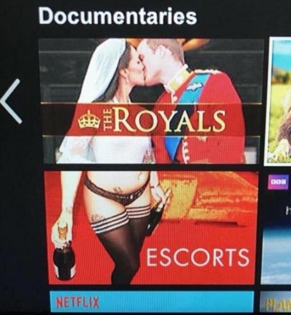Witziger Fauxpas auf Netflix.