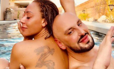 Mel B vergnügt sich nackt mit ihrem Freund im Pool!