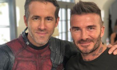 David Beckham flirtet mit Ryan Reynolds