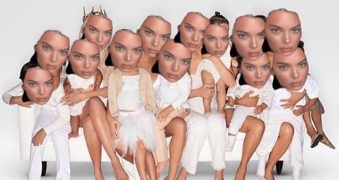 Kendall Jenner amüsiert sich über Weihnachtsfoto!