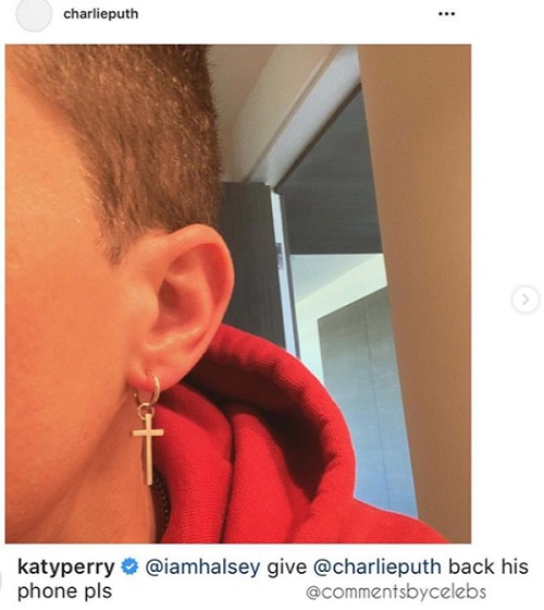 Katy Perry spottet bitterböse über Charlie Puth