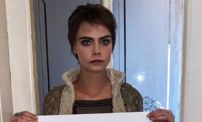 Cara Delevingne dreht nackt Kampagnen-Film.
