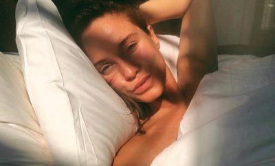 Geordie Shore-Star Vicky Pattison nackt in der Badewanne