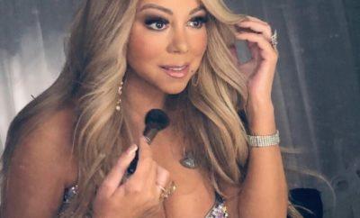 Mariah Carey feiert Erfolg mit Nackt-Cover.