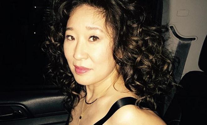 Sandra Oh  nackt