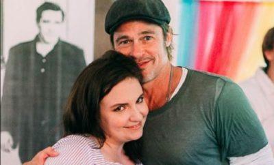 Brad Pitt überrascht Lena Dunham an ihrem Geburtstag