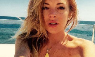 Lindsay Lohan: Nackt wie Gott sie schuf