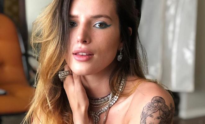 Bella Thorne sorgt mit unzensiertem Nackt-Foto für Aufsehen