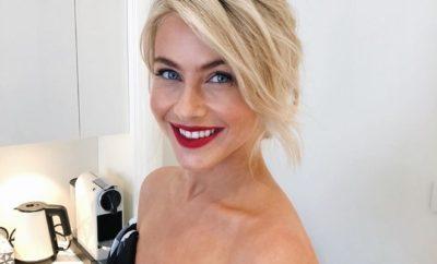 Nina Dobrev-BFF Julianne Hough nackt in der Women's Health